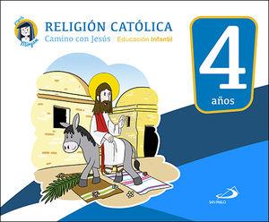 RELIGIÓN CATÓLICA - EDUCACIÓN INFANTIL 4 AÑOS