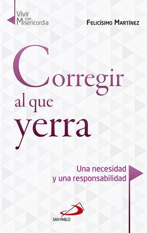 CORREGIR AL QUE YERRA