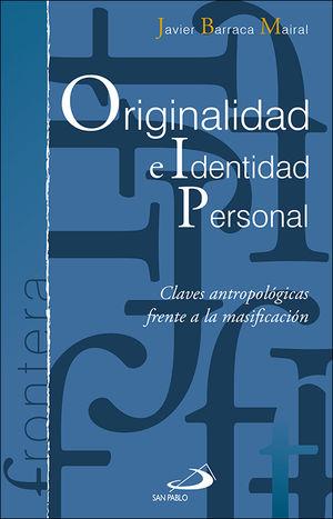 ORIGINALIDAD E IDENTIDAD PERSONAL