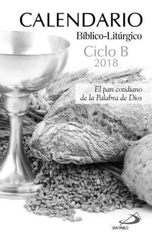 CALENDARIO BÍBLICO-LITÚRGICO 2018 CICLO B