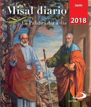 MISAL DIARIO JUNIO 2018