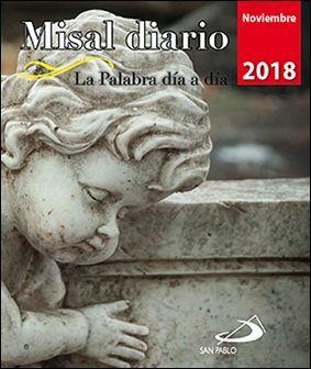 MISAL DIARIO NOVIEMBRE 2018