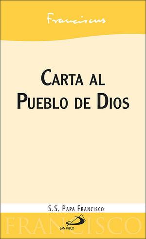CARTA AL PUEBLO DE DIOS