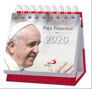 CALENDARIO DE MESA PAPA FRANCISCO 2020