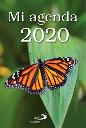 MI AGENDA 2020 FUNDA TRANSPARENTE