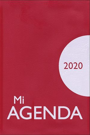 MI AGENDA 2020 PLÁSTICO ROJA/AZUL