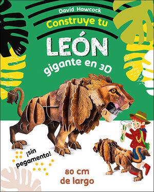 CONSTRUYE TU LEÓN GIGANTE EN 3D