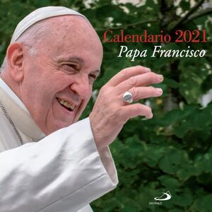 CALENDARIO PAPA FRANCISCO 2021 PARED