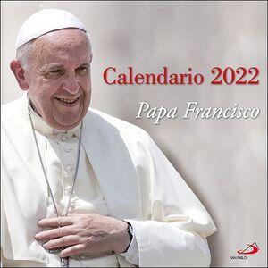CALENDARIO PARED PAPA FRANCISCO 2022 (29,7 X 29,7 CM)