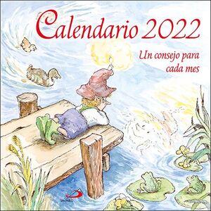 CALENDARIO PARED UN CONSEJO PARA CADA MES 2022 (29,7 X 29,7 CM)