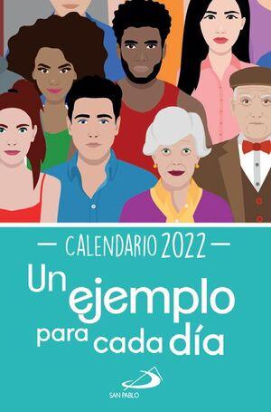 CALENDARIO TACO SOBREMESA UN EJEMPLO PARA CADA DÍA 2022 - GRANDE
