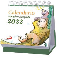 CALENDARIO SOBREMESA ATRIL MINILIBROS AUTOAYUDA 2022