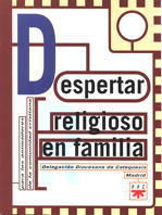 DESPERTAR RELIGIOSO EN FAMILIA