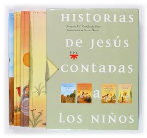 HISTORIAS DE JESÚS CONTADAS A LOS NIÑOS. ESTUCHE