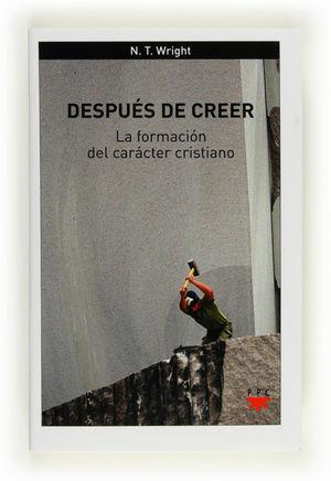 DESPUÉS DE CREER