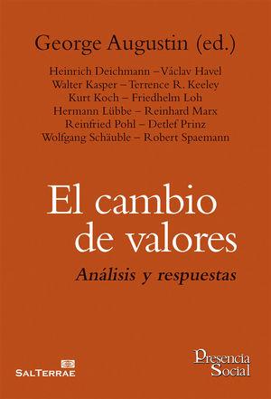 EL CAMBIO DE VALORES