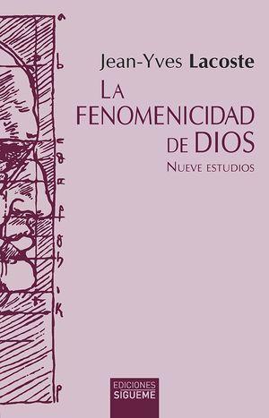 LA FENOMENICIDAD DE DIOS