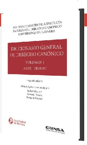 DICCIONARIO GENERAL DE DERECHO CANÓNICO (VOL. I-VII)