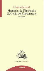 MEMORIAS DE ULTRATUMBA-EL GENIO DEL CRISTIANISMO