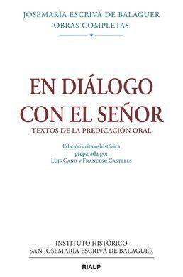 EN DIÁLOGO CON EL SEÑOR (RÚSTICA)