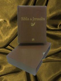 BIBLIA DE JERUSALÉN CON FUNDA