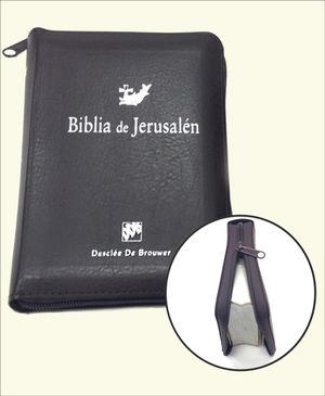 BIBLIA DE JERUSALÉN DE BOLSILLO CON CREMALLERA