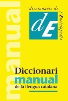 DICCIONARI MANUAL DE LA LLENGUA CATALANA