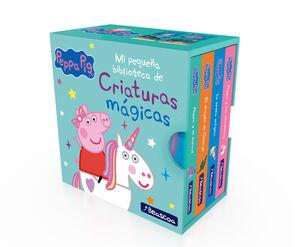 MI PEQUEÑA BIBLIOTECA DE CRIATURAS MÁGICAS. SIRENAS, UNICORNIOS, NARVALES Y DRAGONES (PEPPA PIG)