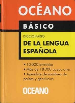 BÁSICO, DICCIONARIO DE LA LENGUA ESPAÑOLA