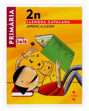 LLENGUA CATALANA. APRENC A LLEGIR. 2 PRIMÀRIA. PROJECTE 3.16