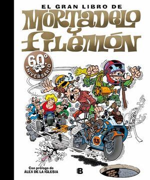 GRAN LIBRO MORTADELO Y FILEMON 60 ANIVERSARIO
