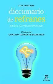 DICCIONARIO DE REFRANES