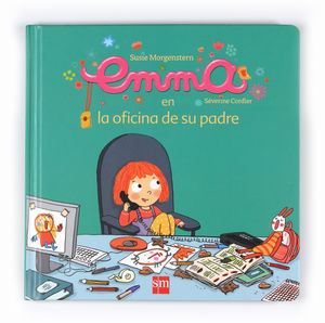 EMMA EN LA OFICINA DE SU PADRE