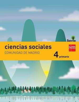 CIENCIAS SOCIALES. 4 PRIMARIA. SAVIA. MADRID