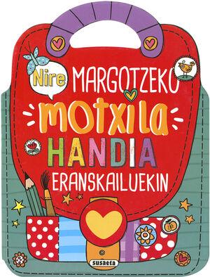 NIRE MARGOTZEKO MOTXILLA HANDIA ERANSKAILUEKIN