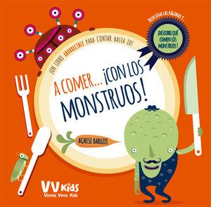 A COMER CON LOS MONSTRUOS (VVKIDS)