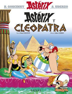 ASTÉRIX Y CLEOPATRA (ASTURIANO)