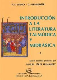 INTRODUCCIÓN A LA LITERATURA TALMÚDICA Y MIDRÁSICA