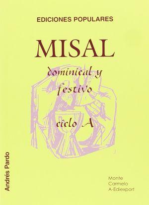 MISAL DOMINICAL Y FESTIVO. CICLO A