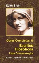 EDIHT STEIN. OBRAS COMPLETAS II