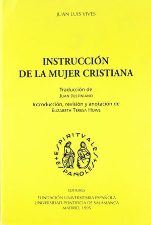 INSTRUCCIÓN DE LA MUJER CRISTIANA