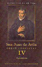 OBRAS COMPLETAS DE SAN JUAN DE ÁVILA. IV: EPISTOLARIO