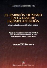 EL EMBRIÓN HUMANO EN LA FASE DE PREIMPLANTACIÓN
