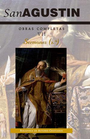 OBRAS SAN AGUSTÍN VII: SERMONES (1.º): 1-50: SOBRE EL ANTIGUO TESTAMENTO