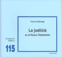 LA JUSTICIA EN EL NUEVO TESTAMENTO