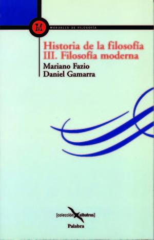 HISTORIA DE LA FILOSOFÍA III
