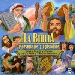 BIBLIA PERSONAJES Y EPISODIOS 13 DVD