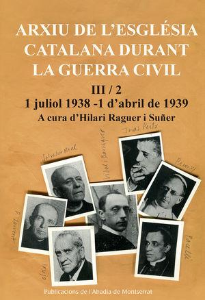 ARXIU DE L'ESGLÈSIA CATALANA DURANT LA GUERRA CIVIL, III-2