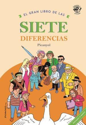 GRAN LIBRO DE LAS SIETE DIFERENCIAS,EL