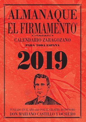 ALMANAQUE EL FIRMAMENTO 2019 ZARAGOZANO